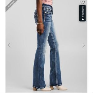 Miss Me Mid-Rise Chloe Bootcut Jeans. 25